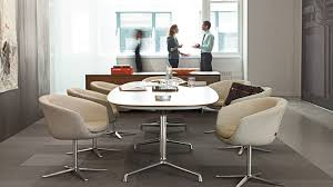 Conference Table With Chairs Sw 1 Elegant Standard Height Conference Tables Coalesse