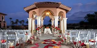 wedding arch las vegas the westin lake las vegas resort spa weddings
