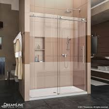 30 Shower Door Dreamline Dl 6620c 08cl Enigma X Shower Door Slimline 30 X 60