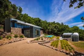 House With Guest House by You U0027ll See Stars In This 7 9m Modern Sonoma Estate With Your Own