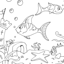 seabed 14 nature u2013 printable coloring pages