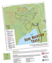 Blue Ridge Mountains Map Dark Mountain Brushy Mountain Cyclists Club