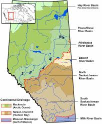 Map Of Fort Mcmurray Long Term Reliability Of The Athabasca River Alberta Canada As