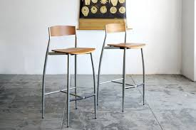bar stools design within reach sold design within reach baba barstools walnut and chrome rehab