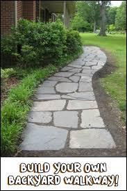 Backyard Walkway Ideas by Best 25 Backyard Walkway Ideas Only On Pinterest Walkways