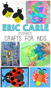 eric carle inspired crafts for kids i heart arts n crafts