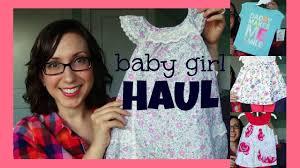 ross u0026 marshall u0027s haul baby spring summer clothes youtube