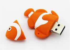design usb sticks pendrive fish usb flash drive nemo design usb stick flash