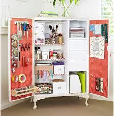 Upcycle Laminate Furniture - upcycled craft storage using what you have the flamingo