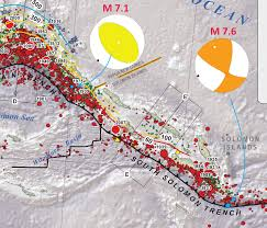 Solomon Islands Map Another Triggered Earthquake In The Solomon Islands Jay Patton