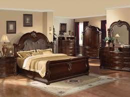 Beautiful Brown Color Nuance Bedroom Furniture Royal Bedroom Interiors With Luxurious