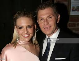 helene yorke and boyfriend bobby flay pose at the opening night of picture id523215526