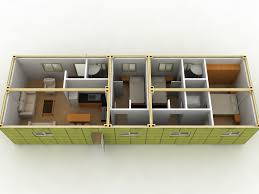 shipping container layout 5 container home container home