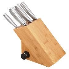 article de cuisine ricardo ricardo knife set and block 8 pieces rona