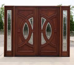 Antique Exterior Door Cl 23399 Exterior Mahogany Doors In Antique Cherry Finish