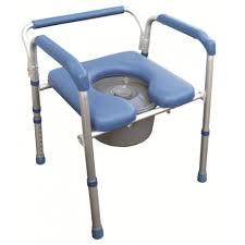chaise perc e pliante chaise hygiénique 4 en 1 en aluminium anti corrosion