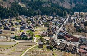 japanese town shirakawa go traditional japanese town japan the world heritage in