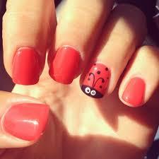 best 25 ladybug nails ideas only on pinterest kid nail art