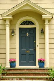 modern door knockers 21 cool blue front doors for residential homes