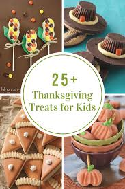 thanksgiving treats crafts and games for kids the idea room