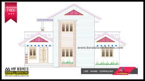 home elevation design free download download free home plans kerala for budget kerala home makersreal