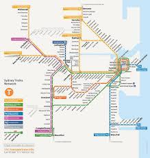 Transport Map Sydney Transport Map Sydney Public Transport Map Australia