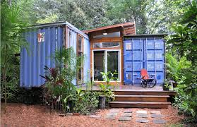 blue storage unit homes with shipping container home and eco