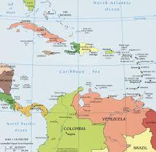 Puerto Rico World Map by Ubicacion De Puerto Rico En El Caribe