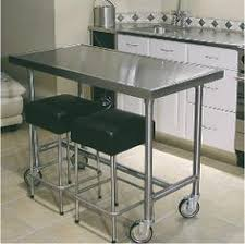 Stainless Kitchen Island A Line By Advance Tabco Prep Table Castle Heights Pilot