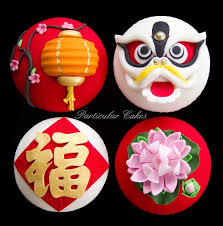 New Years Cupcake Decorations by Chinese New Year Cupcakes And Cakes Inspiration For A New Year