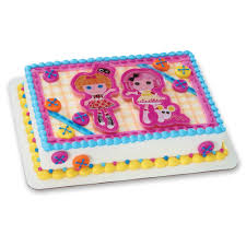 lalaloopsy birthday cake decopac lalaloopsy let s bake decoset cake topper