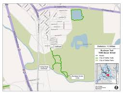 Map Of Dallas Texas Major Nature Trails Dallas Parks Tx Official Website