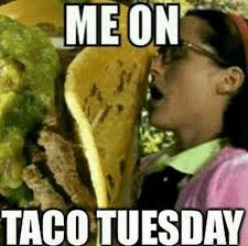 Taco Tuesday Meme - taco tuesday is in full force guys jerzee s sports bar