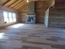 log cabin floors caring for hardwood flooring schutt log homes and mill