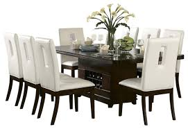 dining table with wine storage dining room pinterest inside dining