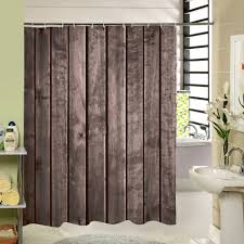 popular wood garage doors buy cheap wood garage doors lots from polyester shower curtain old bronze wooden garage door vintage rustic shower curtain american country style bathroom