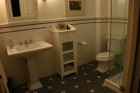 unique black and white bathroom floor tile hexagonal black and