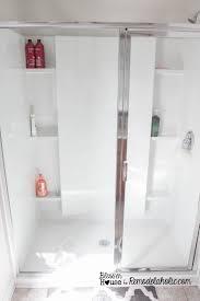 diy industrial factory window shower door remodelaholic bloglovin u0027