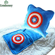 Batman Toddler Bedding Captain America Baby Blanket Pillow Feeding Cushion Batman