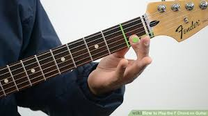 tutorial kunci gitar f 4 ways to play the f chord on guitar wikihow