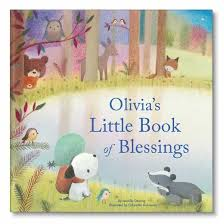 my book of blessings personalized book