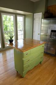 How To Make An Kitchen Island The Old Dresser As A Kitchen Block Use U2013 Diy Project For You