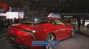 lexus manhattan ny super car video tour lexus lc500 jaguar f type svr abc7ny com