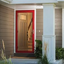 storm door with screen and glass shop storm doors u0026 frames at lowes com