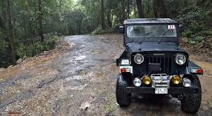 wide stance jeep monsoon offroading trail driving in sakleshpur and bisle ghat