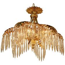 tree chandelier gilt bronze palm tree chandelier or flush mount at 1stdibs