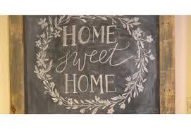 Home Decor Chalkboard Diy Rustic Chalkboard Sign Diy Joy