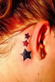 58 tattoos the ear