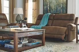 austere power reclining sofa brown austere power reclining sofa by ashley furniture polyester