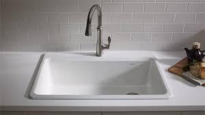 kohler kitchen sinks kohler riverby kitchen sink for the home pinterest sinks